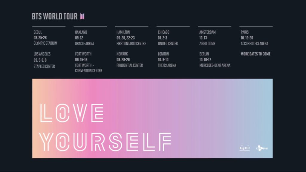 Bts World Tour 2019